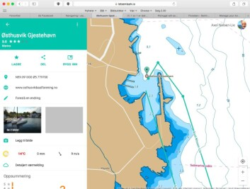GUIDE: I Embark kan du finne brukeres erfaringer med ulike gjestehavner i appen.