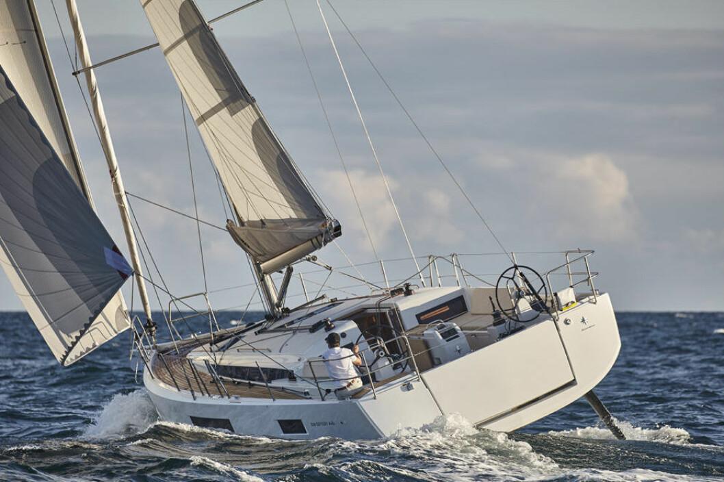NY: Sun Odyssey 440 er spekkfull av nye ideer og tanker.