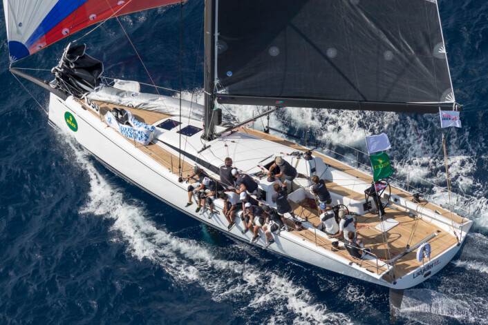 LADYKILLER, Bow n: 50, Sail n: 5001, Class: B, Model: 50, Owner: Mats Bergryd