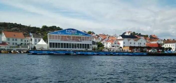 Dampskipsbryggen i Risør er den perfekte publikumsarena