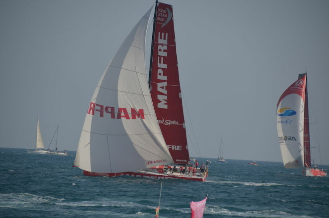 «Mapfre» er en av favorittene i Volvo Ocean Race