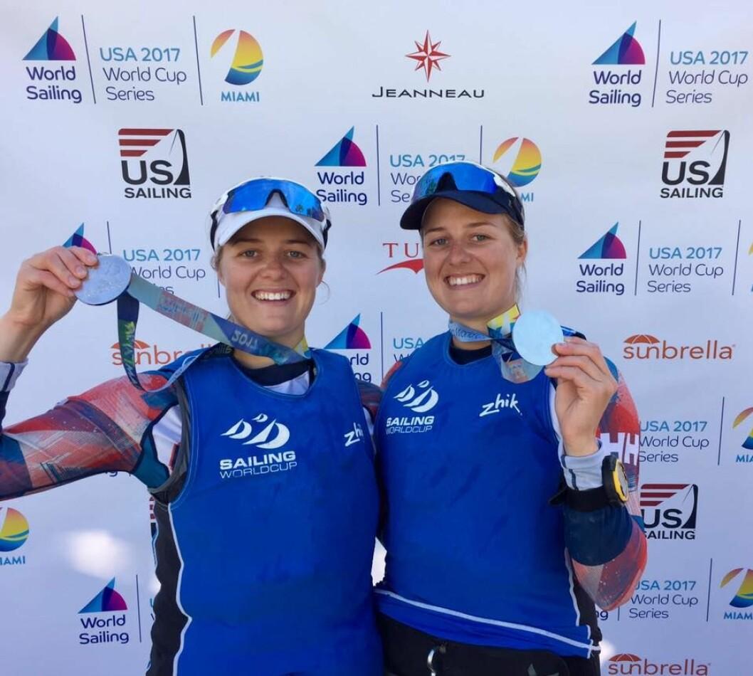 Ragna og Maia Agerup kjemper om medalje i EM