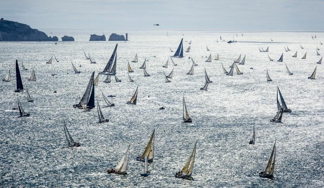 FASTNET RACE: Fastnet Race starter i dag 6. august med tre norske båter på startlinjen.