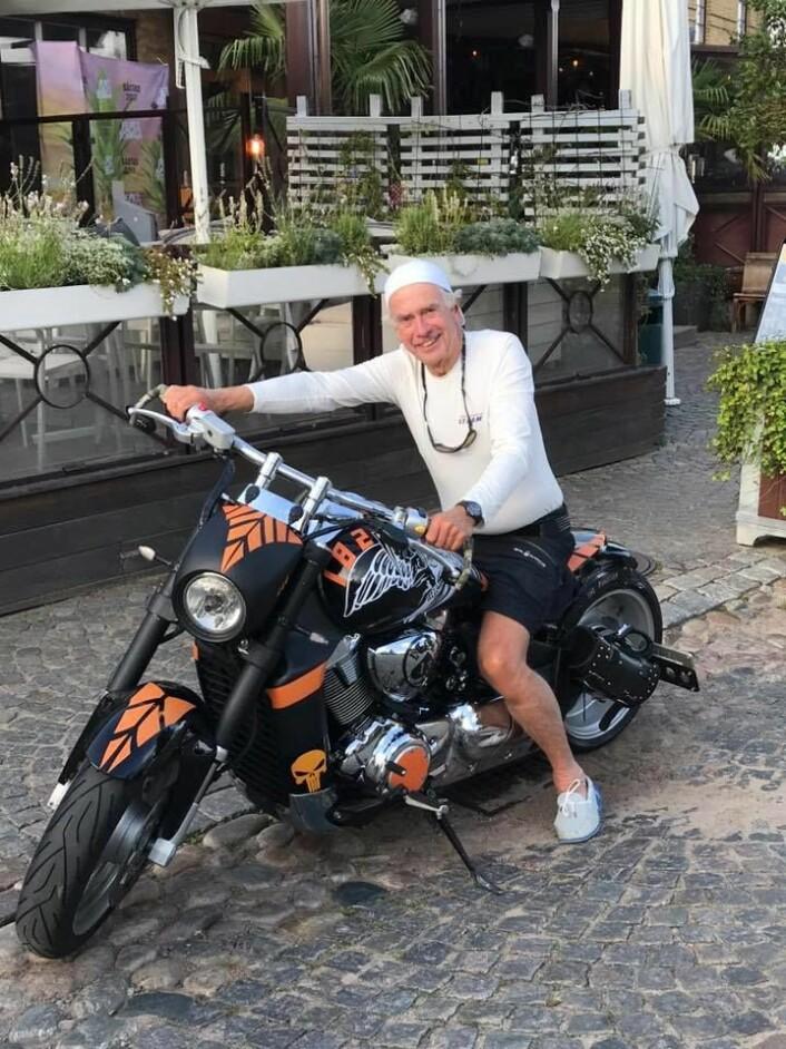 Tøft valg for Astrup, Harley Davidson eller J/70?