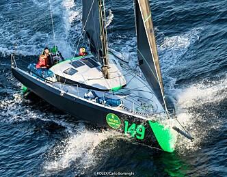 Fornøyde med 7. plassen i Rolex Fastnet Race