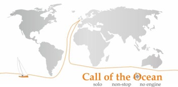 TØFT: Ruta følger Golden Globe med mye seiling i Sørishavet.Turen er beregnet til 9-11 måneder.