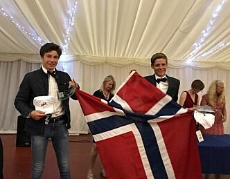 Norsk lag sikret topplassering i britisk mesterskap