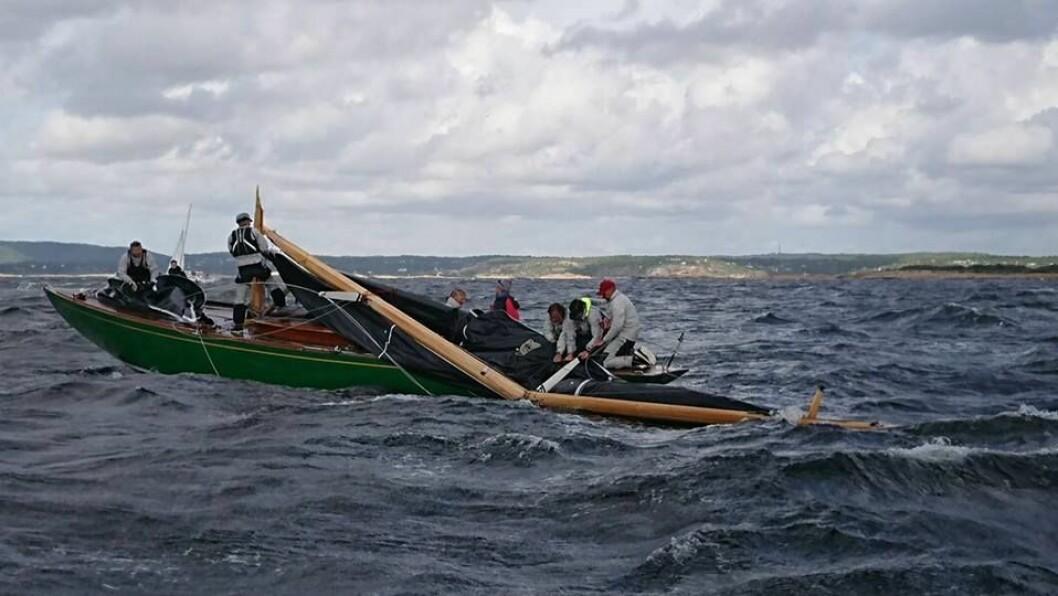 «Sira» mistet masten på avslutningdsdagen
