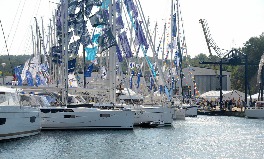 ORUST: Det blir færre nye båter på Ellös i år. Flere av de svenske forhandlerne har flyttet til Marstrand.