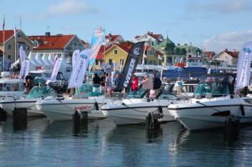 MOTOR: Utstillingen i Marstrand er størst, men domineres av motorbåter.