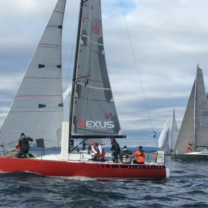 LEDER: «Karma Police» var første båt rundt Hollenderbåen.
