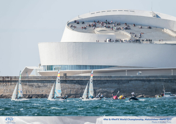 49er & 49erFX World Championship, Porto 2017