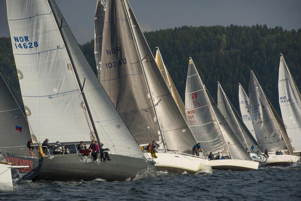 OVER 70: Nesodden Seilforening håper på over 70 båter i North Sail Nesodden Høstcup.