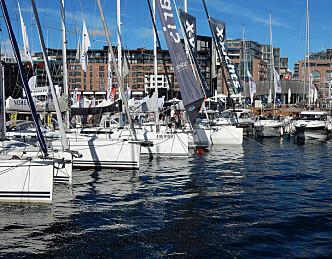 290 båter til Skandinavias største flytende båtmesse