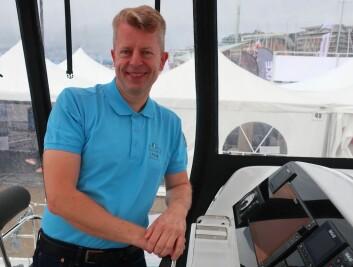 LAGOON: Alf Morten Indbjo selger franske katamaraner, og vil få problemer med å levere båter til kunder i tiden fremover.