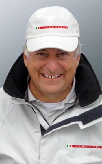 ITALIA: Patrizio Bertuelli er leder for Luna Rossa-astsningen, og setter betingelsene for neste runde av America's Cup.