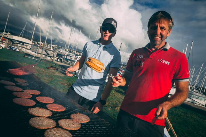 HOLDT: Det holdt til slutt for Jan-Kristian Jensen og laget hans fra Moss. Men det så ikke pent ut en stund?