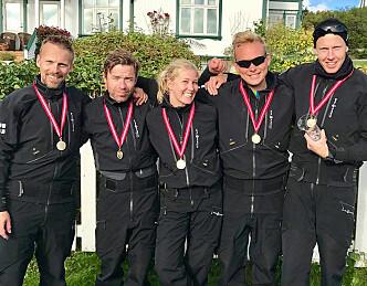 Storm-seilere tok fjerde gull på rad