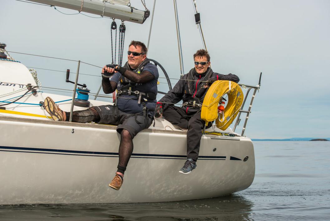 TOPP 10: Brødrene Jon og Emil Moholth har seilt shorthanded en stund, og etter innsatsen i Zhik Skjæløy OneStar er Jon nå inne blant de 10 beste på rankingen.
