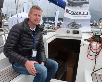 JOLLEUTSTRY: Ved siden av Laser, satser Torbjørn Wold nå også på prisgunstige seilbåter fra Polen.