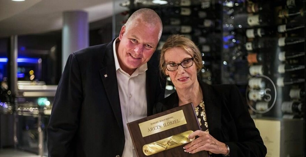 ILDSJEL 2016: Gerd Espelid fra Lysakerfjorden ble Årets ildsjel i 2016. Nå kan du nominere kandidater til årets pris.