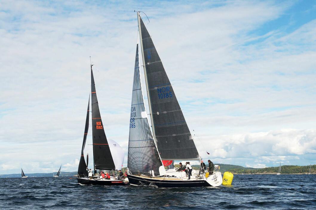 GULL: Seilergjengen om bord i «Fri av Fjærholmen» (NOR 10185) vant NM-gull i ORCi.
