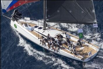REGATTA: Club Swan 50 er en regattamaskin for en rik eier med proft mannskap.