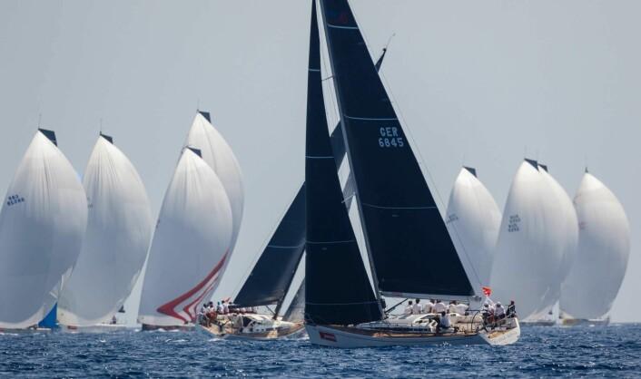 SWAN: Nasjonscupen er en premie basert på resultatene i 42, 45 og 50-fotsklassen.