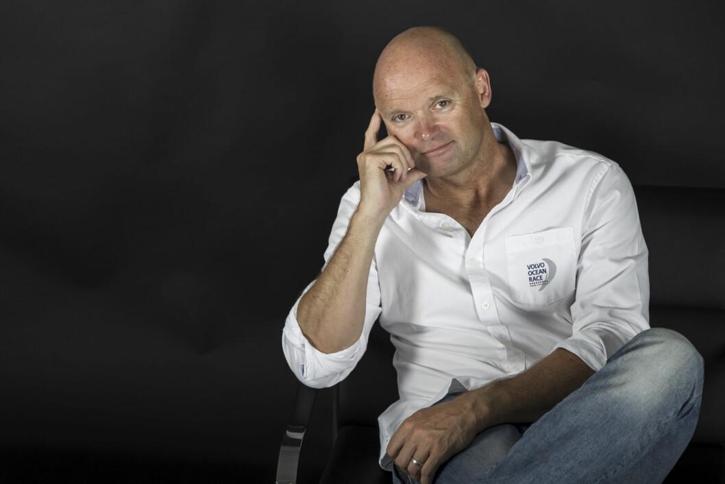 NY SJEF: Mark Turner er en av verdens fremste innen sport-management, og nå leder han Volvo Ocean Race.