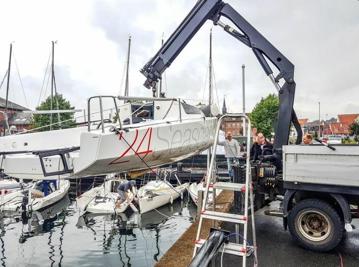 STORT: Silverrudder er verdens største solo-regatta, og et arrangement Seascape legger ned mye resurser for å støtte.