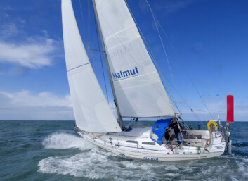 HELT: 72 år gamle Jean-Luc van den Heed skal seile jorda rundt for femte gang.