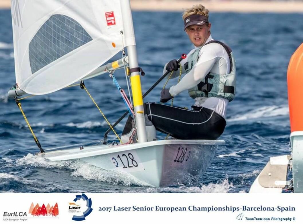Hermann Tomasgaard vant medaljefinalen og sikret kvoteplass til OL