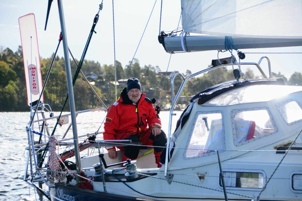 TEST: Are Wiig utfordrer seg selv og båten med en tøff seiltur til Nordkapp i oktober.
