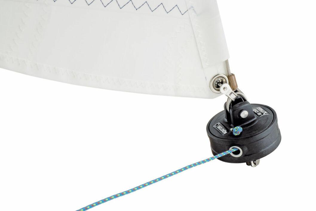 SMÅTT: Seldén lanserer rullesysten for joller og mindre kjølbåter.