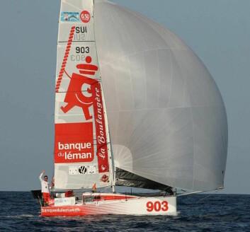 SERIE: Sveitseren Valentin Gautier var bare fire timer bak de to beste Proto-båtene over målstreken med sin masseprodiuserte båt.