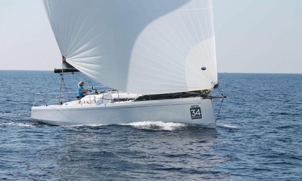 TESTES: Grand Soleil 34 er en av åtte spennende nominerte båter.