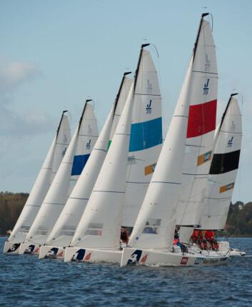 TETT: Det var jevn seiling og høyt nivå på seilingen både i finalen og i semifinalene.