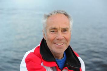 AKTIV SEILER: 73 år gamle Øystein Nilsen seilte Ågerøya rundt tidligere i høst, og ble nr. 2 av 16 båter - over all.
