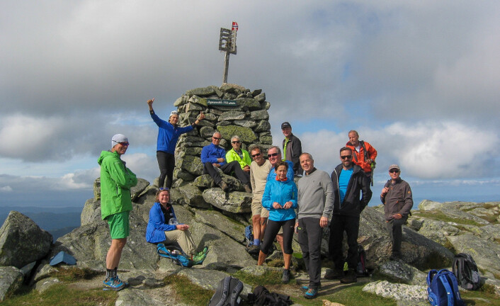 BESTIGNING: Tysnessåta var målet for årets siste «Fjord og fjell».