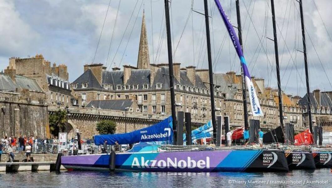 Team AkzoNobel får ny skipper. Kaster den gamle.