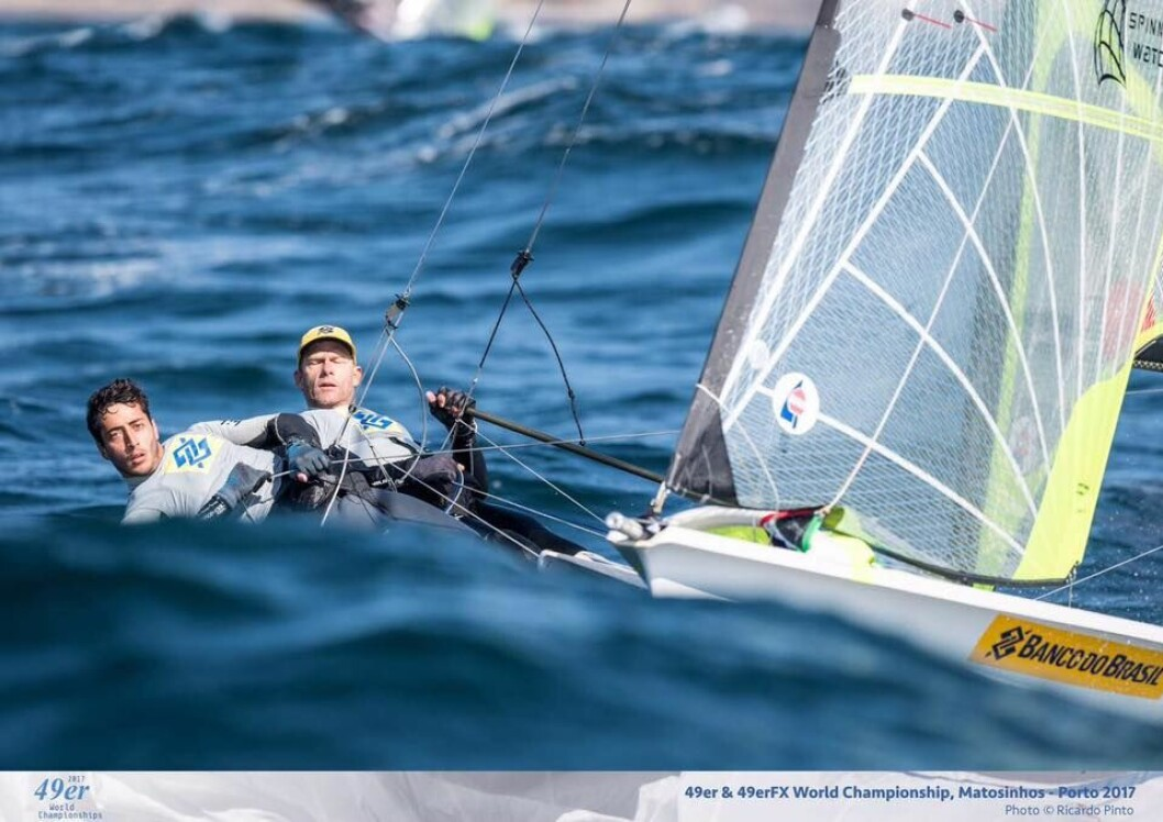 Robert Scheidt gir seg med OL seilingen tre år før Tokyo OL.