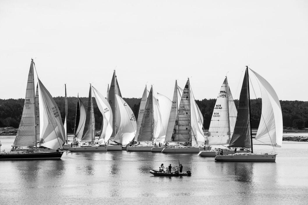 FLEST POENG: Shorthanded-seilerne fra Asker har samlet flest poeng i løpet av de fire siste årenes rankingregattaer.