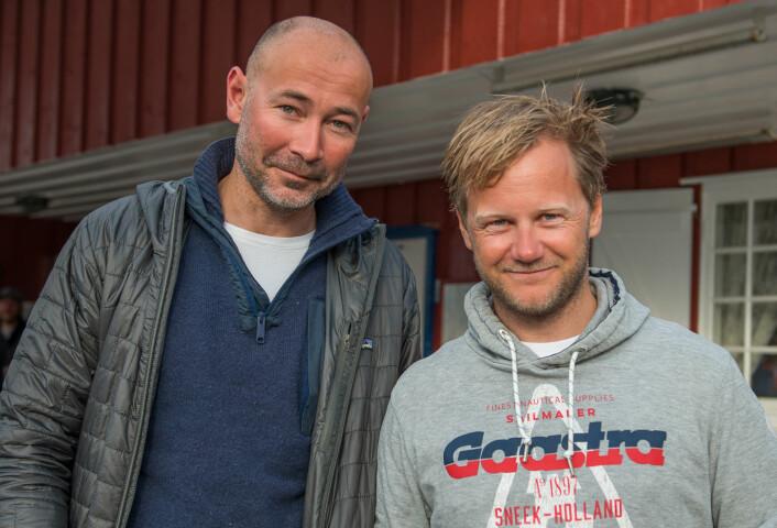 DELT 3. PLASS: Tim Sandberg og Sigmund Andre Hertzberg har seilt sammen i hele år, og det resulterte i delt 3. plass.