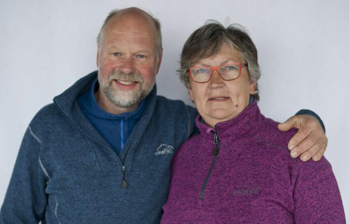 GOD SESONG: Petter Ankjær-Jensen og Nina Rosenlund har hatt en god sesong. Petter ble nummer ni blant årets shorthanded-seiler, mens Nina Rosenlund ble beste kvinnelige seiler.