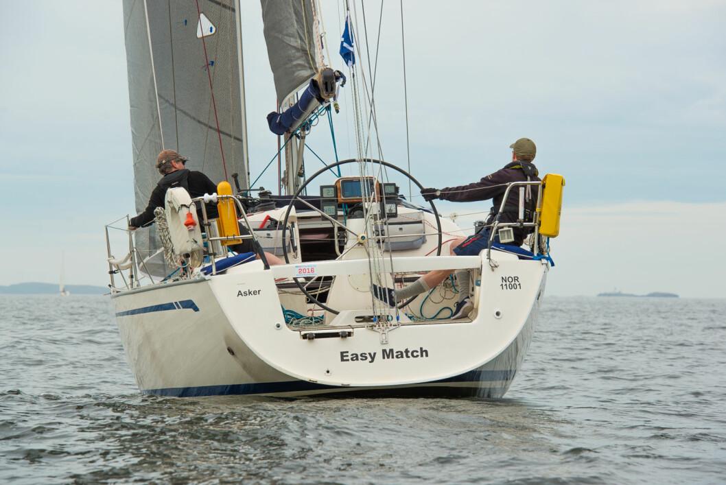 EASY MATCH: Om det ikke var noen «easy match», så levnet Asker-seilerne liten tvil om at de var de beste shorthanded-seilerne i sesongen 2017.