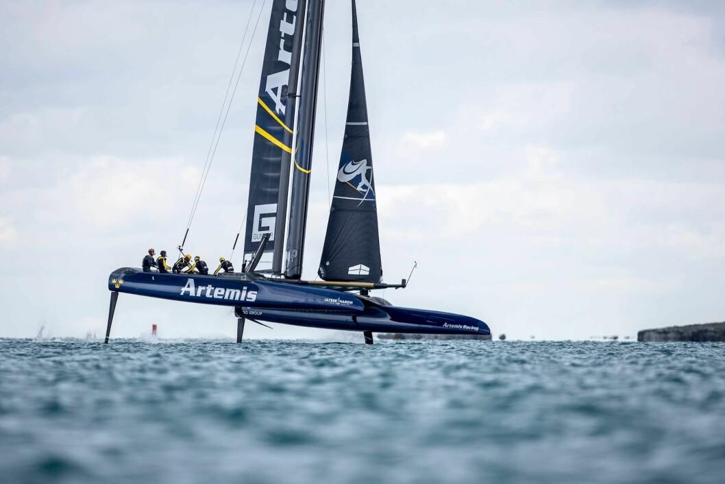 Vi har trolig ikke sett AC50 «Artemis»på regattabanen for siste gang.