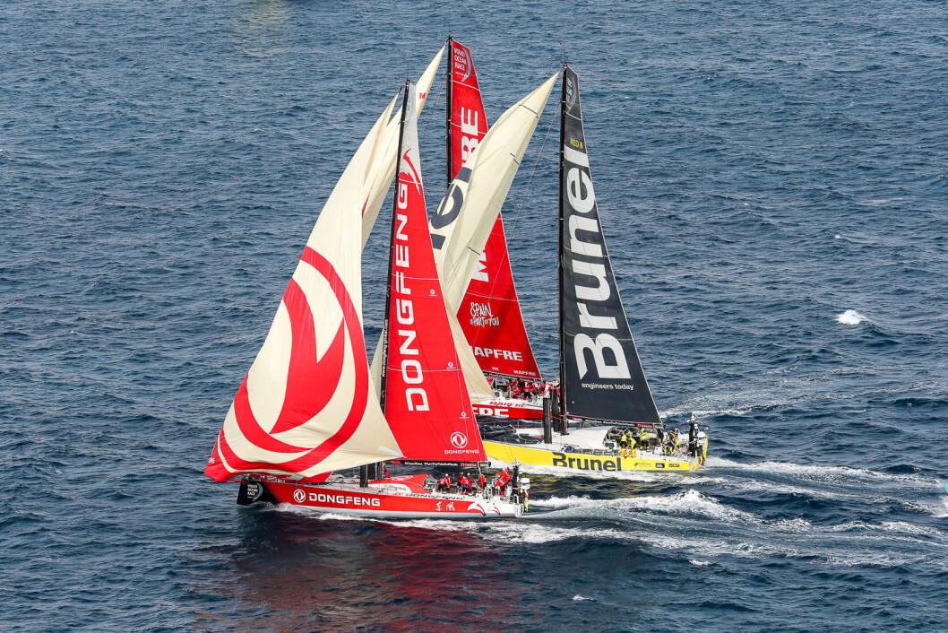 Det står mellom disse tre i Volvo Ocean Race