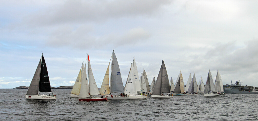 START: Shetland Race og Viking Offshore Race starter 27. juni 2018.