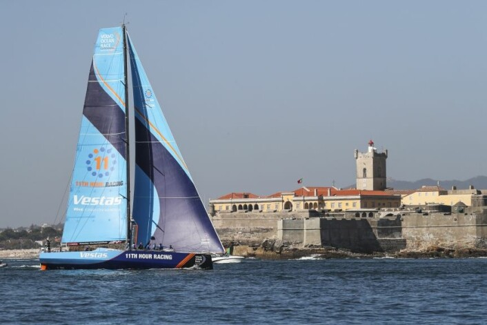 Vestas 11 Hours Racing vant 1. etappe Alicante - Lisbon