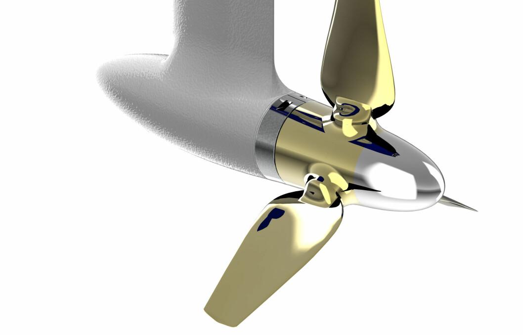EFFEKTIVT: Nye seildrevet til Oceanvolt har propellblader som kan justeres.